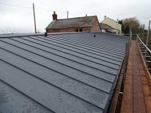 modern metal roofing