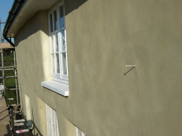 tradtional lime plastering